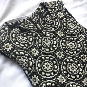 Zara Woman sleeveless back zip mini dress